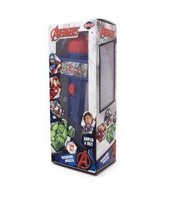 Microfone-Infantil-com-Eco-e-Luz---Azul---Disney---Marvel---Avengers---Toyng---Frente