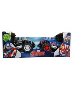 Conjunto-de-Carrinhos-a-Friccao---Disney---Marvel---Avengers---Black-Panter-e-Capitao-America---Toyng