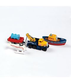 Conjunto-de-Locomotivas-e-Vagao---Thomas---Friends-Adventure---Time-de-Resgate-de-Sodor---Fisher-Price---Frente