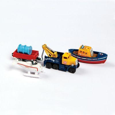 Conjunto-de-Locomotivas-e-Vagao---Thomas---Friends-Adventure---Time-de-Resgate-de-Sodor---Fisher-Price---Frente