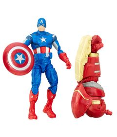 Frente-Figura-de-Acao---25-Cm---Disney---Marvel-Legend-Series---Civil-War---Capitao-America---Hasbro