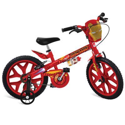 Bicicleta-ARO-16---Disney---Marvel---Homem-de-Ferro---Bandeirante