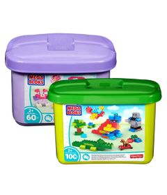 kit-blocos-de-montar-mega-blocks-balde-verde-e-balde-rosa-160-pecas-fisher-price-33384_Frente