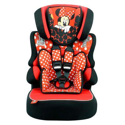Frente-Cadeira-para-Auto-De-09-a-36-Kg---Beline-SP---Minnie-Mouse---Vermelho---Team-Tex