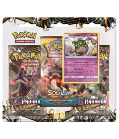 Deck-Pokemon-Triple-Pack---Sol-e-Lua---Luz-Proibida---Garbodor---Copag
