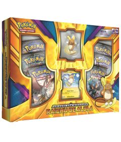 Jogo-Pokemon---Box-Raichu-de-Alola---Copag