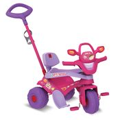 Triciclo-de-Passeio---Motoban---3-em-1---Rosa---Bandeirante