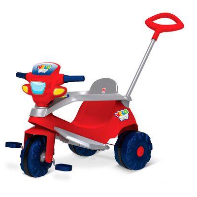 Triciclo-de-Passeio---Velobaby---Vermelho---Bandeirante