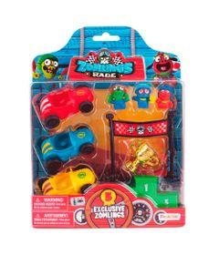 Conjunto-Mini-Veiculos-e-Figuras-Sortidas---Zomlings---Corrida-Zombie---Fun