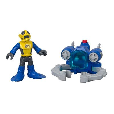 Figura-Basica-Imaginext---Jurassic-World-2---Capturador-de-Dinossauros-Aquaticos---Fisher-Price