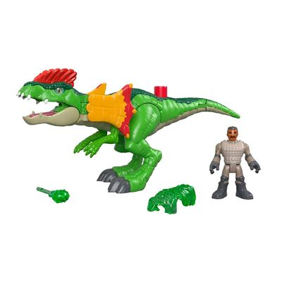 Figura-Basica-Imaginext---Jurassic-World-2---Dilofossauro---Fisher-Price