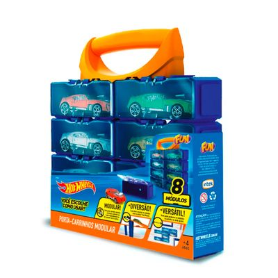 Maleta-Porta-Veiculos---Hot-Wheels---8-Lugares---Fun
