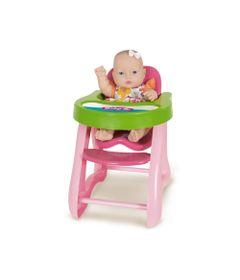 Boneca---34cm---Baby-Jr---Cadeirao-de-Papinha