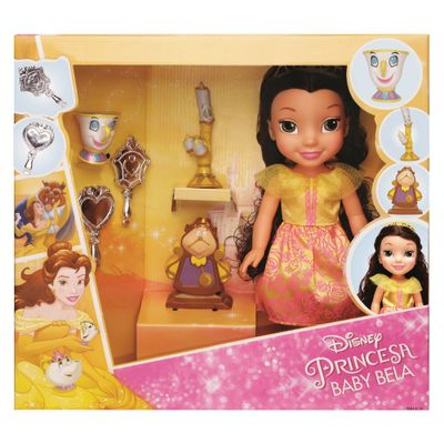 Boneca---30-cm---Minha-Primeira-Princesa-Real---Bella-com-Pet-e-Acessorios---Luxo---Mimo