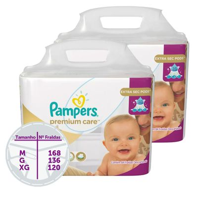 Kit-Fraldas-Descartaveis-Premium-Care-Jumbo---Pampers