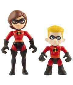 Mini-Figuras---15-cm---Disney---Pixar---Os-Incriveis-2---Pack-com-2---Mulher-Elastica-e-Flecha_Frente