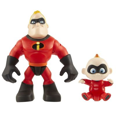 Mini-Figuras---15-cm---Disney---Pixar---Os-Incriveis-2---Pack-com-2---Senhor-Incrivel-e-Zeze_Frente