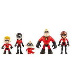 Mini-Figuras---7-cm---Disney---Pixar---Familia-Incrivel---Os-Incriveis-2_Frente