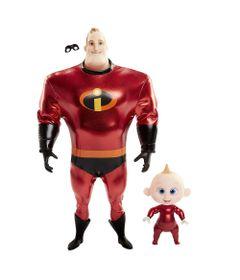 Figuras-Articuladas---Disney---Pixar---Os-Incriveis-2---Sr-Incrivel-e-Zeze_Frente