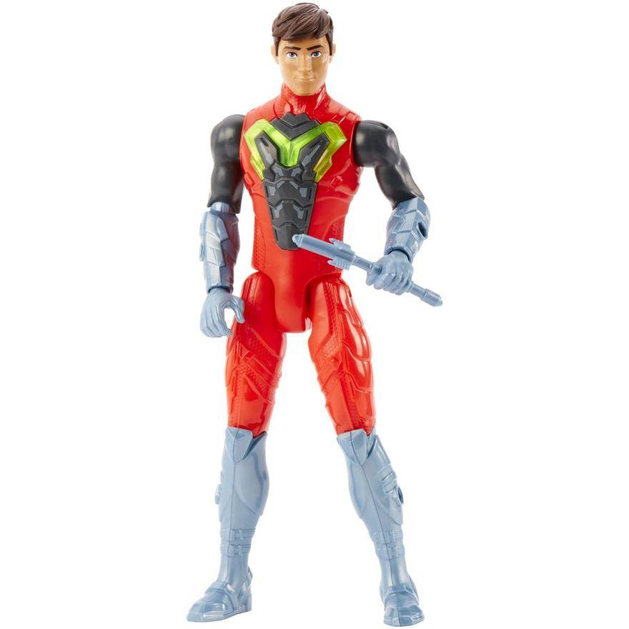 Boneco-Articulado---30-Cm---Max-Steel---Armadura-Eletro---Mattel