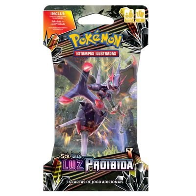 Deck-Pokemon---Blister-Unitario---Luz-Proibida---Naganadel-GX---Copag