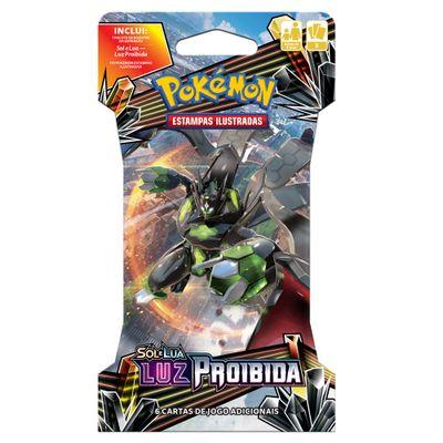 Deck-Pokemon---Blister-Unitario---Luz-Proibida---Zygarde-GX---Copag
