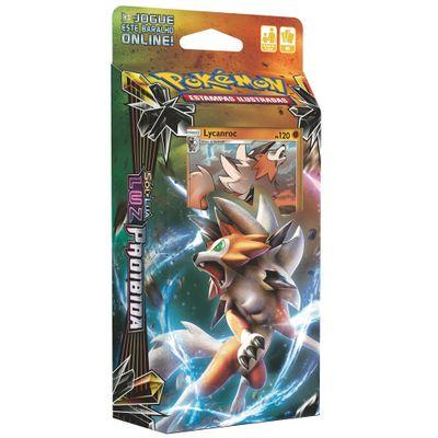 Deck-Pokemon---Starter-Deck---Luz-Infinita---Lycanroc---Copag