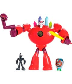 Figuras-Imaginext---Teen-Titans-GO---Super-Cenas---B.R.I.A.N.---Fisher-Price