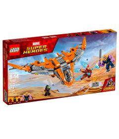 LEGO-Super-Heroes---Disney---Marvel---Vingadores---Guerra-Infinita---Thanos-Batalha-Final---76107