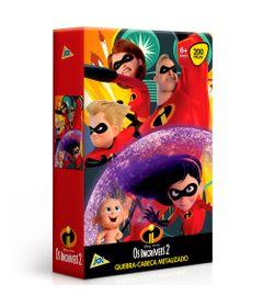 Quebra-Cabeca-Metalizado---Disney---Pixar---Os-Incriveis-2---200-Pecas---Toyster