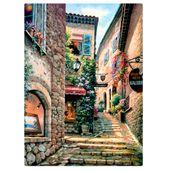 Quebra-Cabeca---Vielas-Francesas---Escadarias---1000-Pecas---Toyster