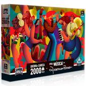 Quebra-Cabeca---Viva-a-Musica---Por-Rogerio-Pedro---2000-Pecas---Toyster