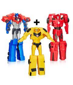 Kit-3-Figuras-Transformers---Titan-Changers---Sideswipe---Bumblebee-e-Optimus-Prime---Hasbro