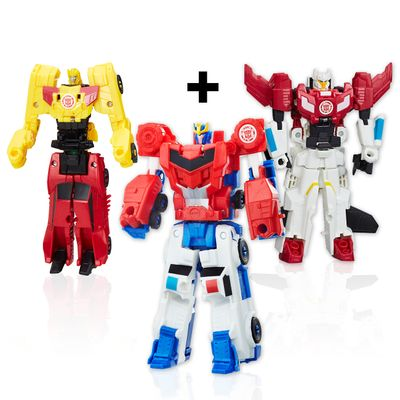 Kit-6-Figuras-Transformers---Robots-In-Disguise---Combiner-Force---Hasbro