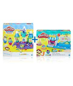 Kit-Massas-de-Modelar---Play-Doh---Castelo-de-Sorvete-e-Sobremesas-Duplas---Hasbro