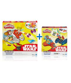Kit-Massas-de-Modelar---Play-Doh---Disney---Star-Wars---3-Veiculos-e-Personagens---Hasbro