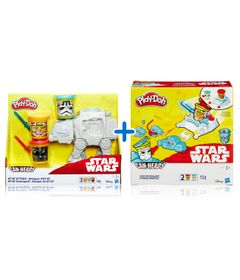 Kit-Massas-de-Modelar---Play-Doh---Disney---Star-Wars---Veiculos---Hasbro