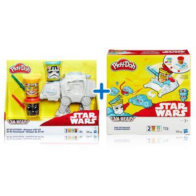 Kit-Massas-de-Modelar---Play-Doh---Disney---Star-Wars---Veiculos---Hasbro