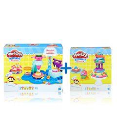 Kit-Massas-de-Modelar---Play-Doh---Kitchen-Creations---Bolos-Divertidos-e-Festa-dos-Bolos---Hasbro
