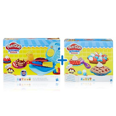 Kit-Massas-de-Modelar---Play-Doh---Kitchen-Creations---Cafe-da-Manha-e-Tortas-Divertidas---Hasbro