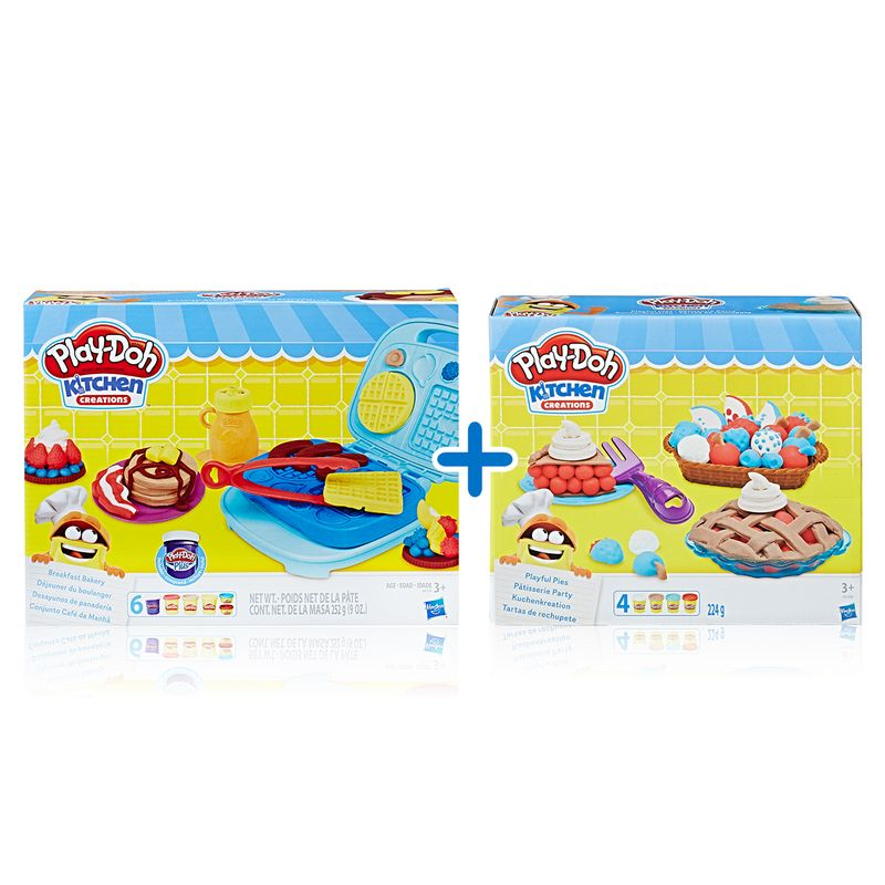 37313bbb9d Kit Massas de Modelar - Play-Doh - Kitchen Creations - Café da Manhã ...