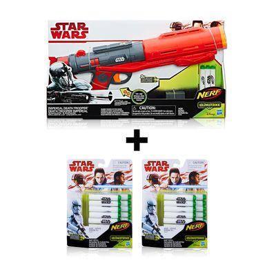 Kit-Lancador-com-Refil---Disney---Star-Wars---Imperial-Death-Trooper---28-Dardos---Hasbro