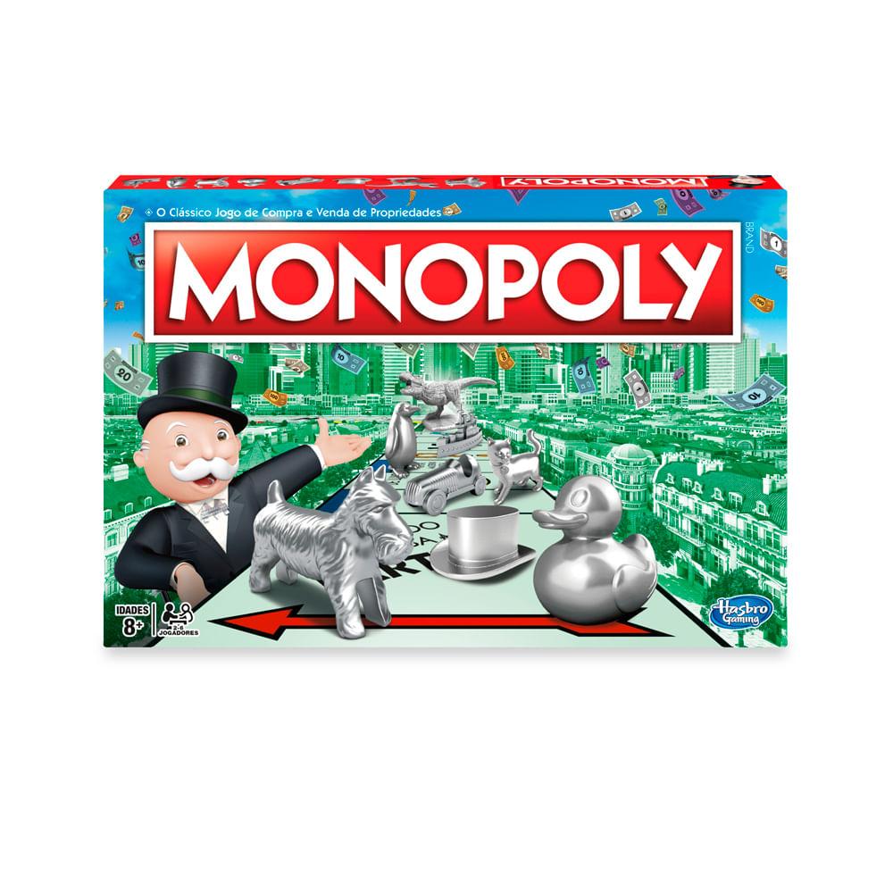 Jogo Monopoly - Clássico - Hasbro
