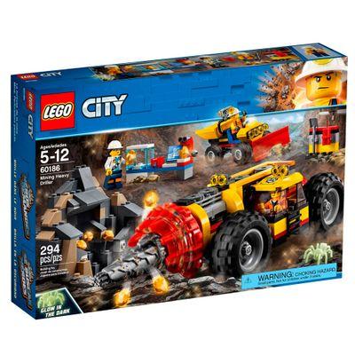 LEGO-City---Veiculo-de-Perfuracao---60186