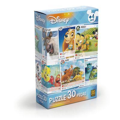 Quebra-Cabeca---Personagens-Disney---30-Pecas---2018---Grow