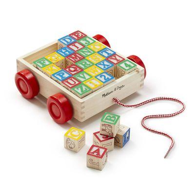 Carrinho-Educativo-em-Madeira---ABC-e-Numerico---New-Toys