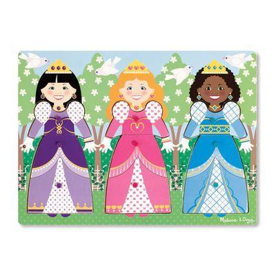 Pecas-de-Encaixe-de-Madeira-com-Ima---Princesas---New-Toys