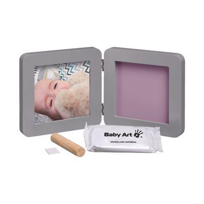 Conjunto-Decorativo---Porta-Retratos---My-Baby-Touch---One-Print---Grey---Baby-Art