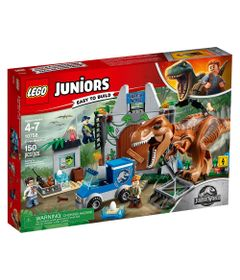 LEGO-Juniors---Jurassic-World---Fuga-T-Rex---10758