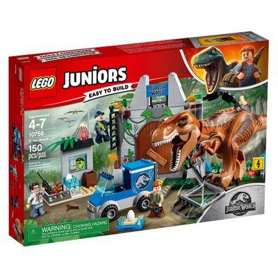 LEGO-Juniors---Jurassic-World---Fuga-T-Rex---10758
